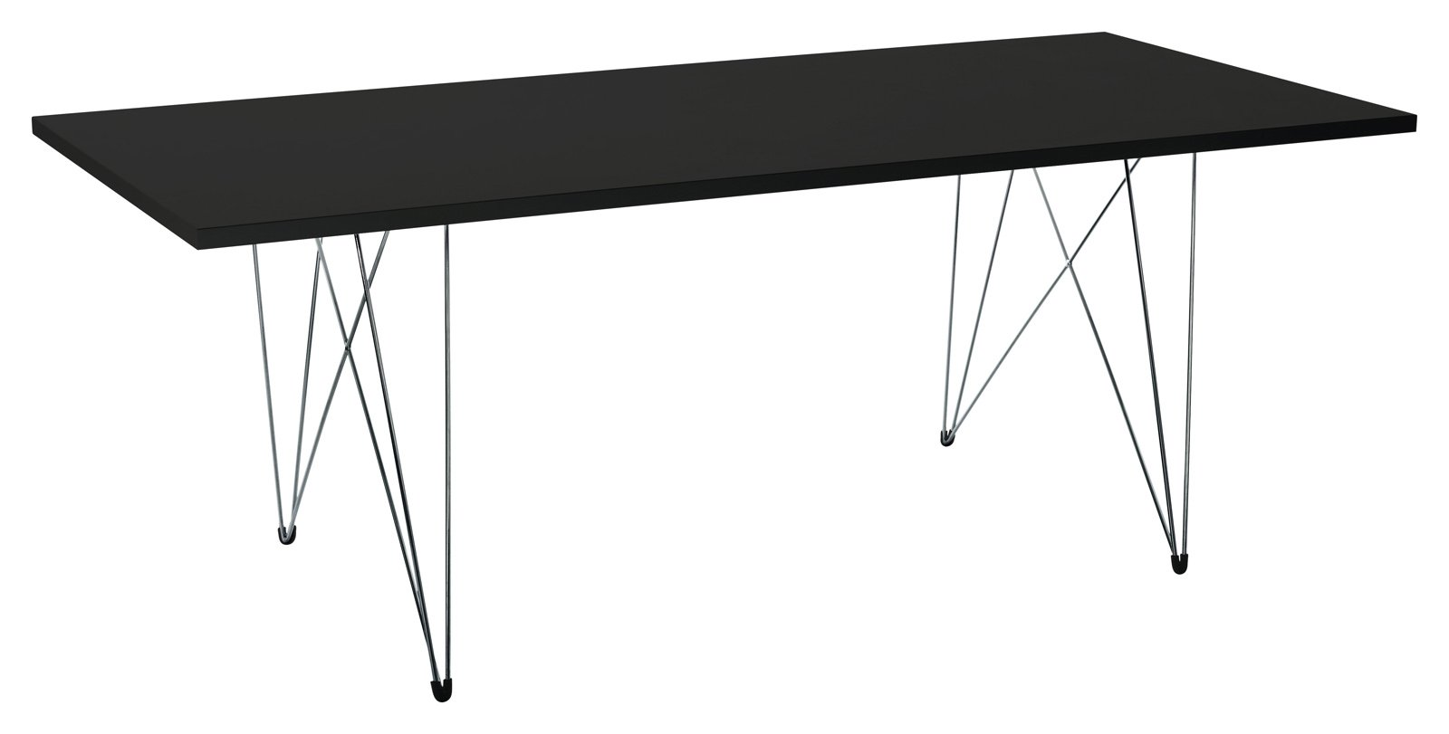Tavolo Con Il Piano Realizzato In Pregiato Legno Iroko La Struttura ...