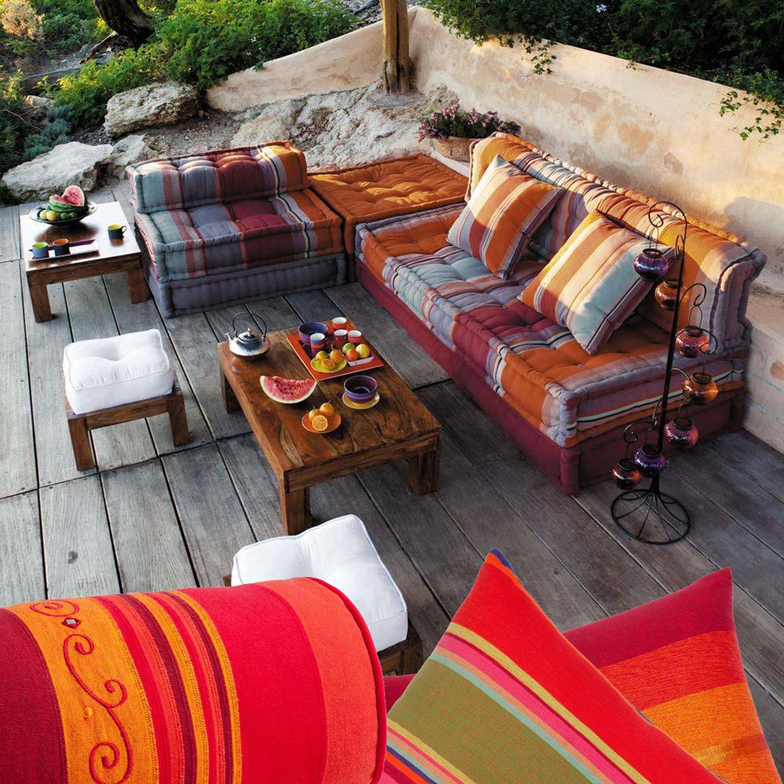 Cuscini per cambiare look alla casa cose di casa - Cuscini per poltrone da giardino ...