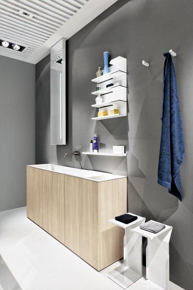 Per il bagno stretto il lavabo modulare cose di casa for Programma disegno mobili