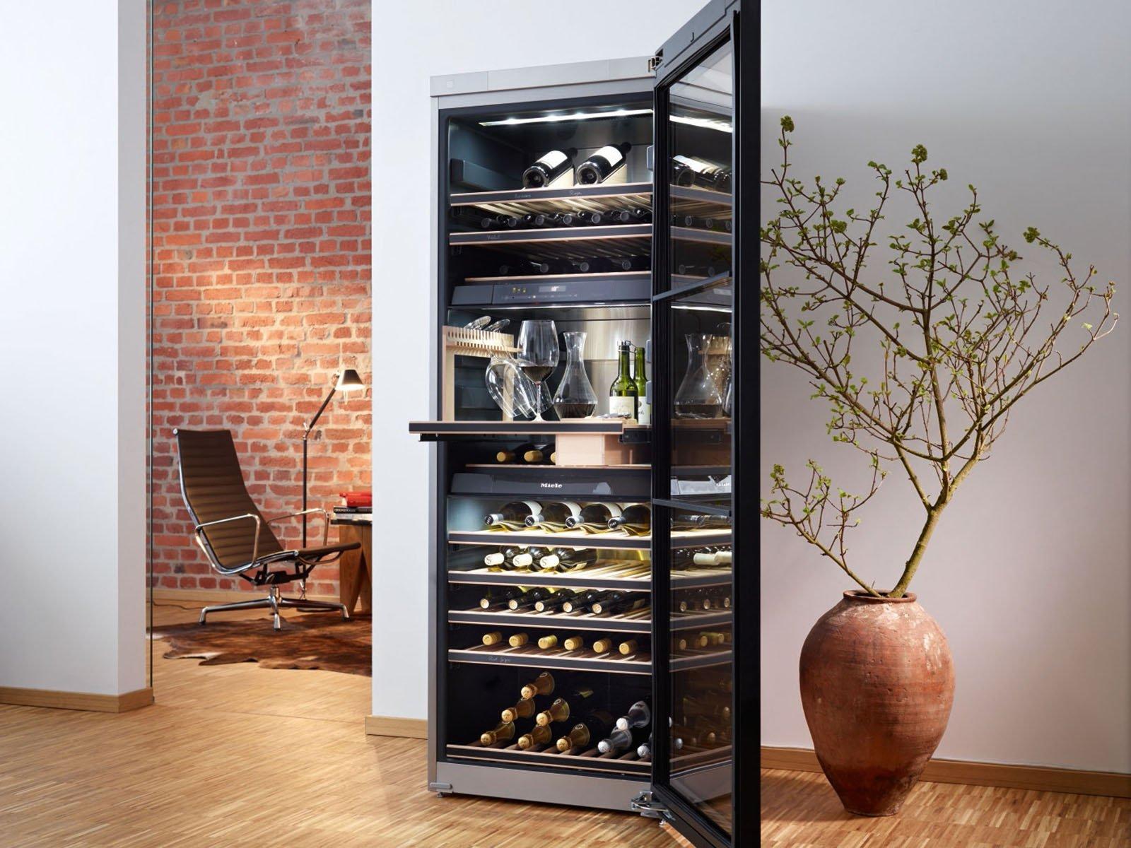 cantinetta vino enoteca privata : temperature differenziabili, con 13 piani di scaffali, l?enoteca ...
