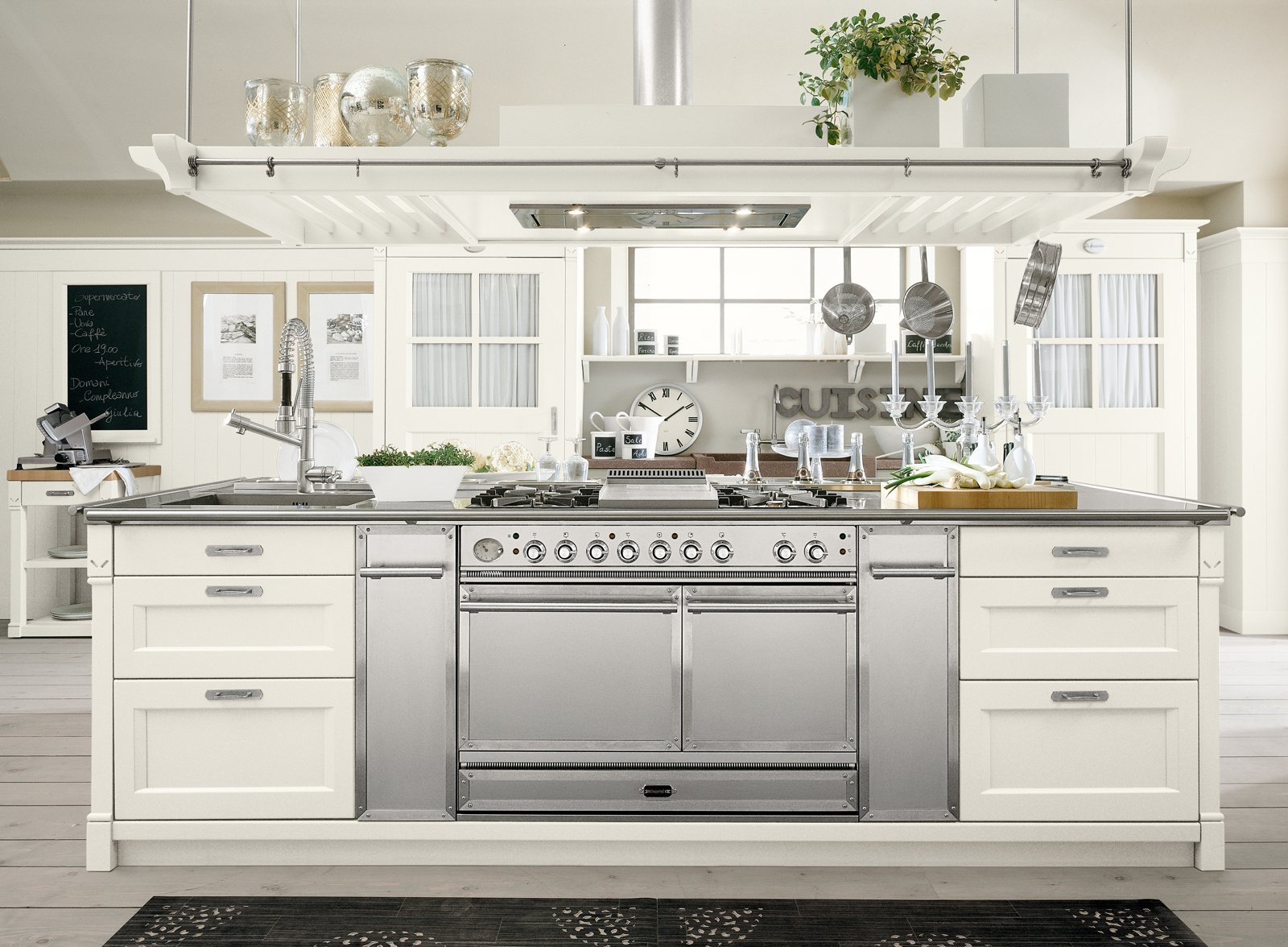 Cucine country una scelta di stile cose di casa for Cucina americana arredamento