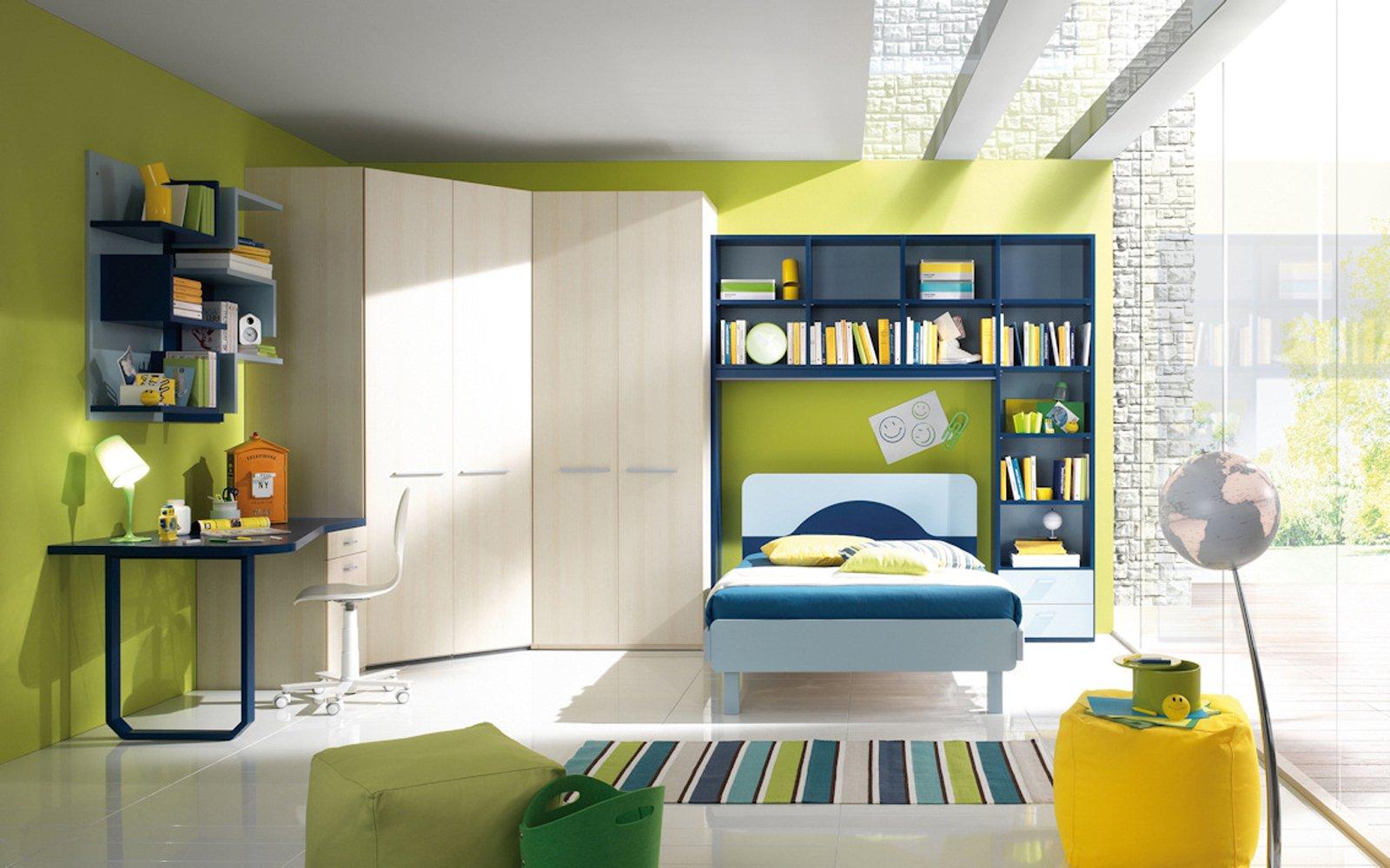 Camerette funzionalit a misura di bambino cose di casa for Scrivanie angolari per camerette