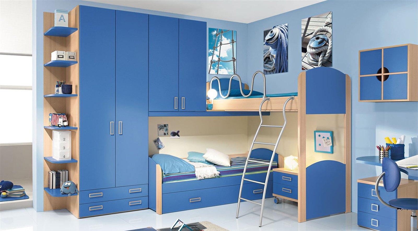 Camerette funzionalit a misura di bambino cose di casa - Soluzioni per camerette ...