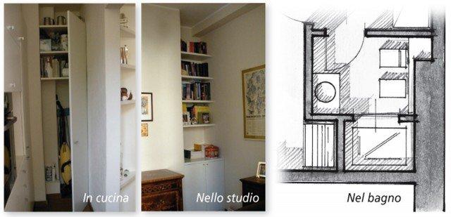 Una casa di 80 mq superfunzionali cose di casa for Costruito nella cabina della cucina