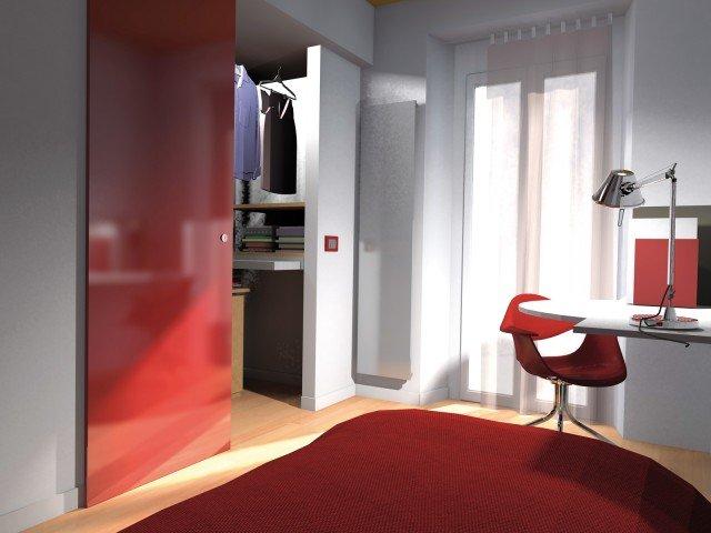 Due cabine armadio in più e la doccia in camera. Progetto ...