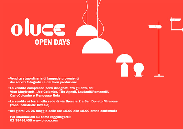 oluceopendays
