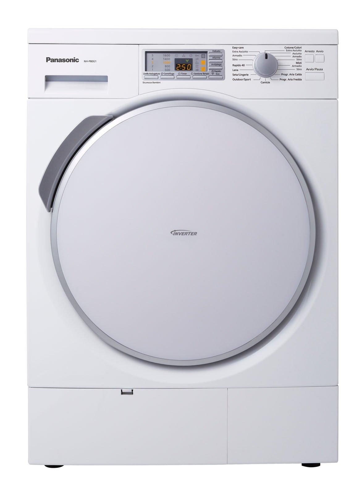 Asciugatrici consumi ridotti e programmi differenziati - Lavatrici piccole dimensioni 33 cm ...