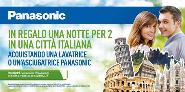 Panasonic regala una notte per due in una città italiana