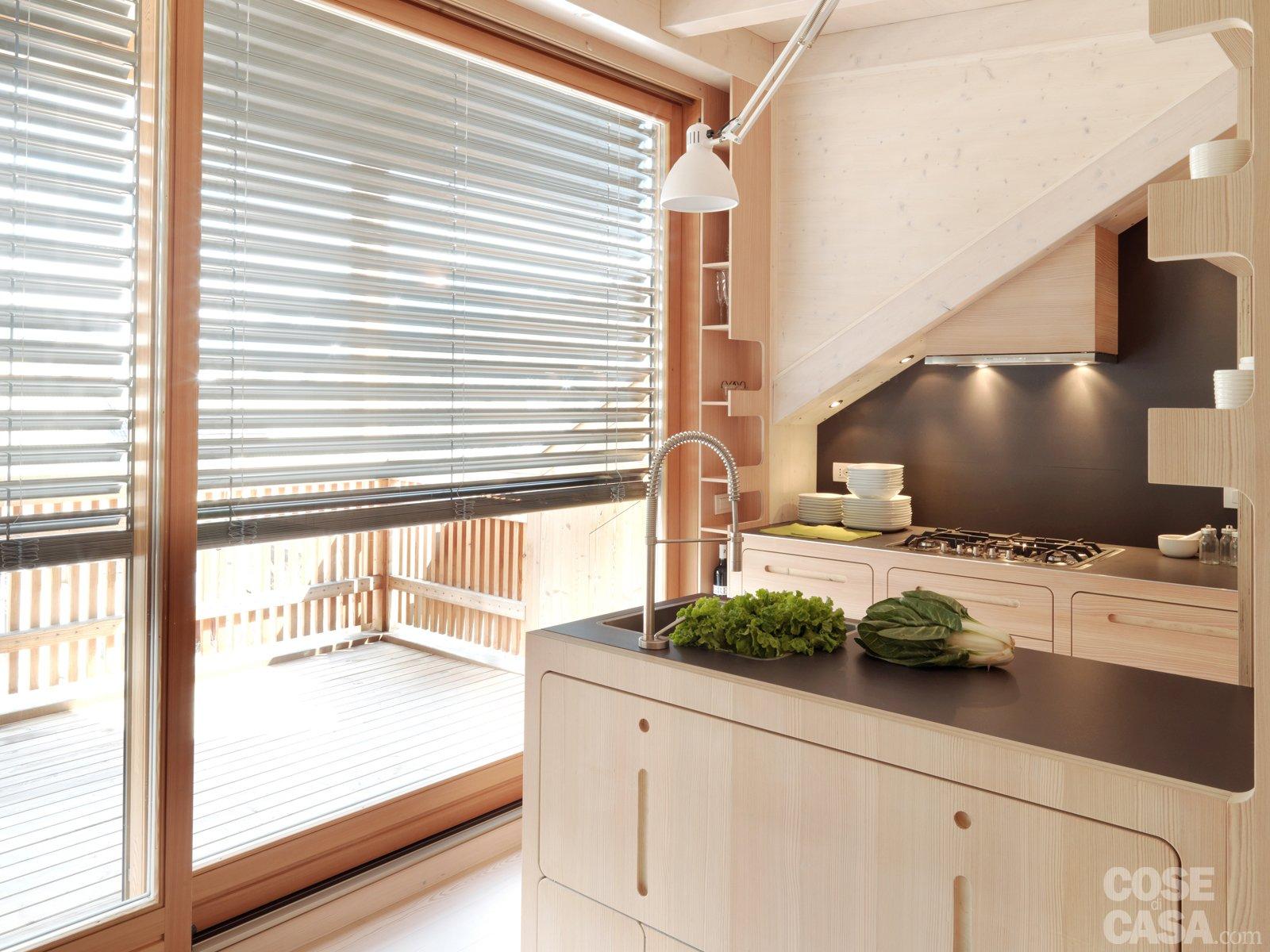 Casa di montagna sfruttata al centimetro cose di casa for Case moderne sotto 100k