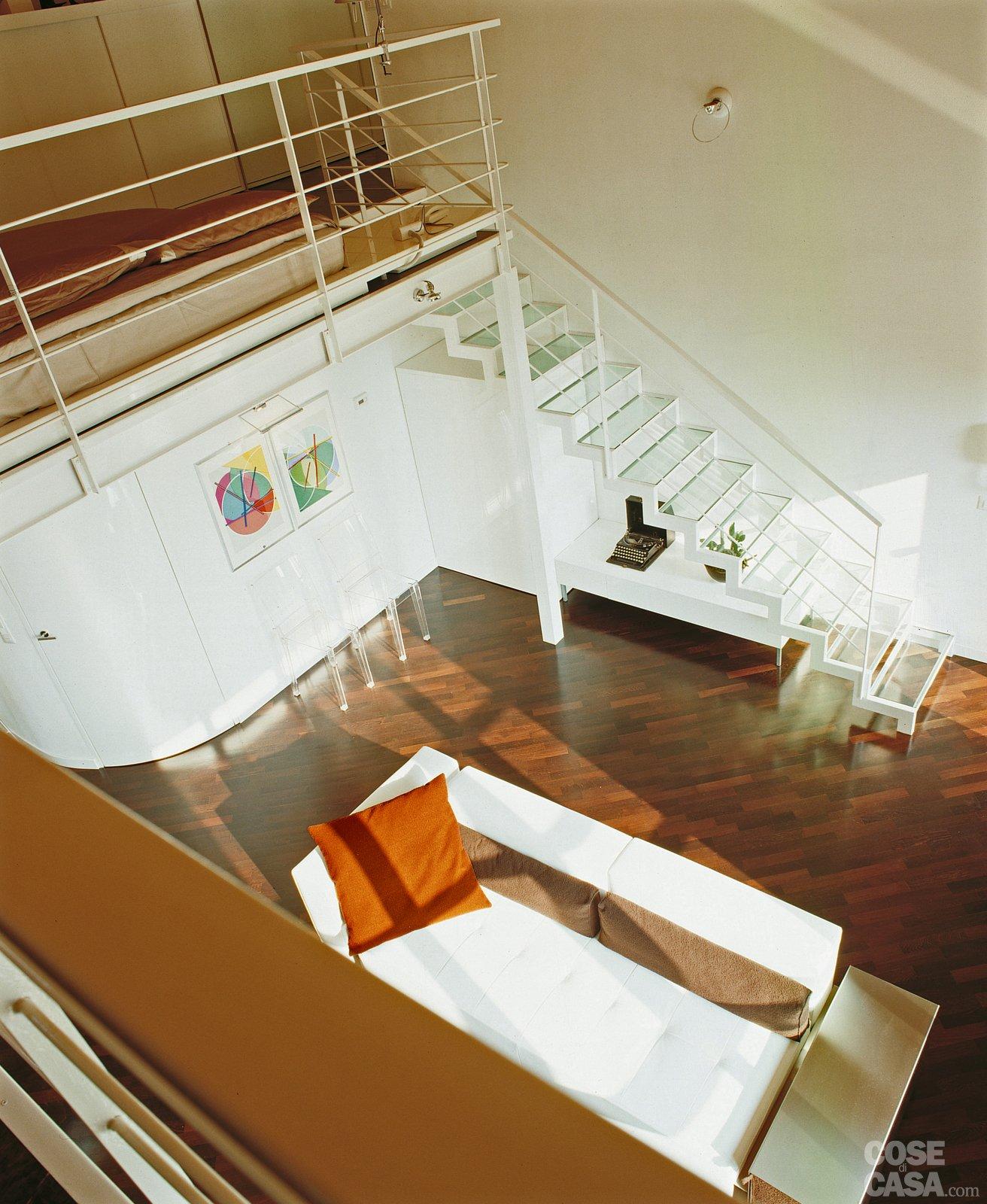 casa di 60 mq con soppalco : Una casa a doppia altezza con soppalco di 70 mq - Cose di Casa