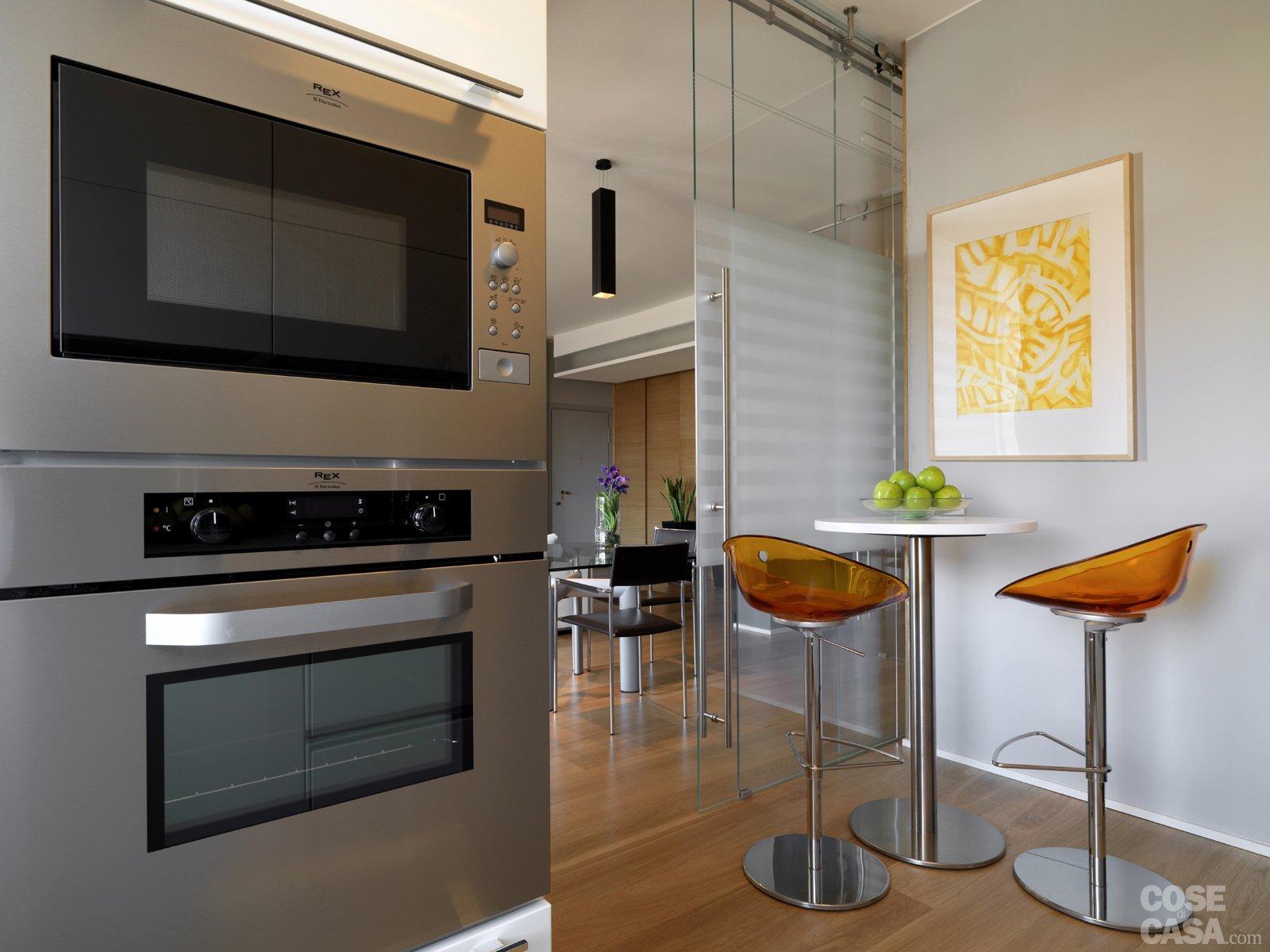 Unico Cucina Soggiorno: Cucina A Vista Idee Per Arredare E Soggiorno #A46F27 1600 1200 Come Arredare Soggiorno Piccolo Con Cucina A Vista