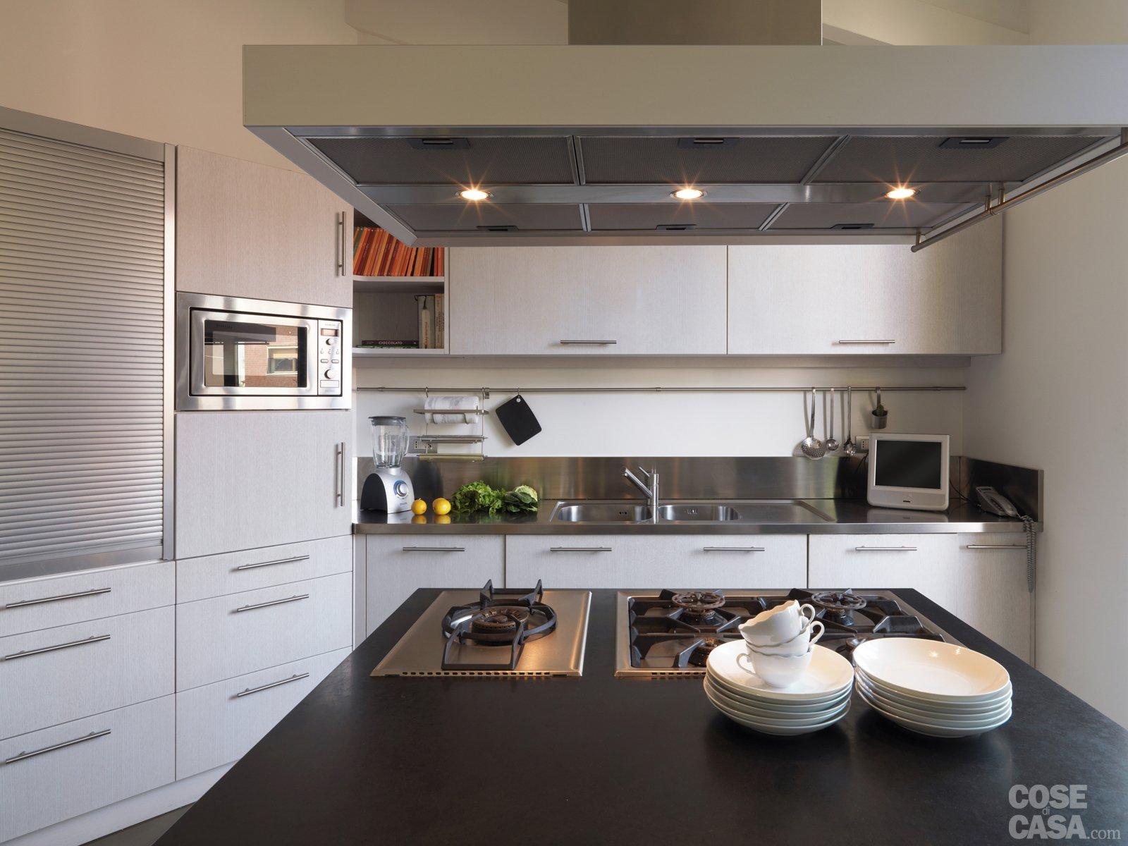 Pecchio Casaoneto Cucina1 #7E634D 1600 1200 Come Arredare Cucina Con Travi A Vista