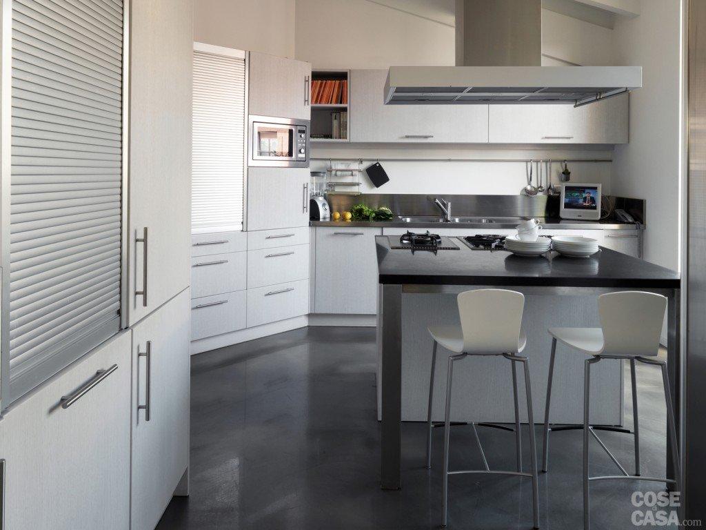 Idee Cucina Lunga E Stretta: Idee cucina lunga e stretta arredare ...