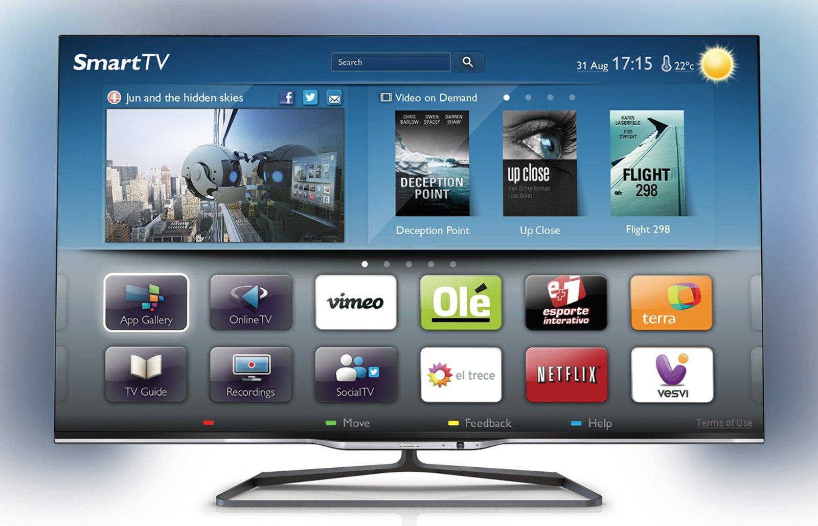 Smart TV 55PFL7008 di Philips