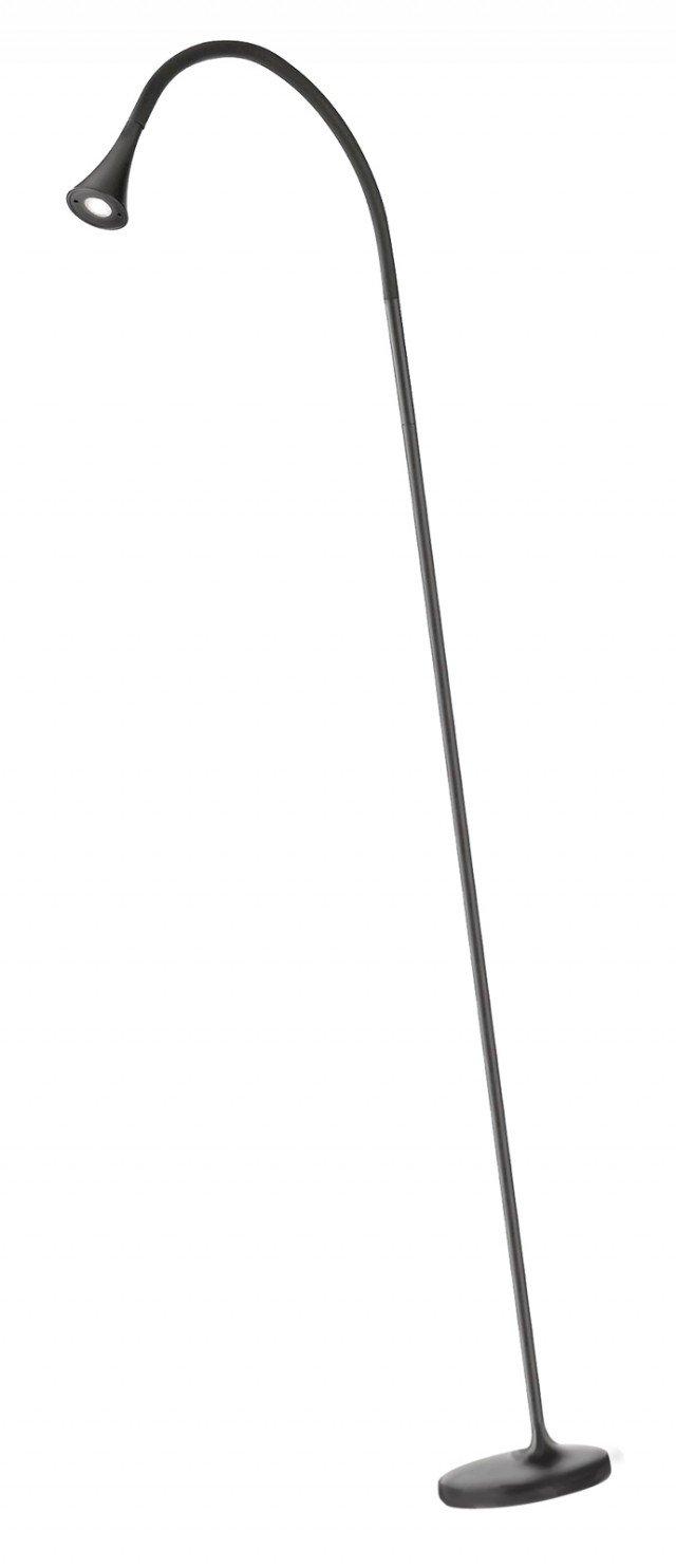 Produce luce bianca calda la lampada in alluminio Ledino di Philips (www.philips.it). Misura 18 x 18 x H 170,3 cm. Prezzo 539,90 euro.