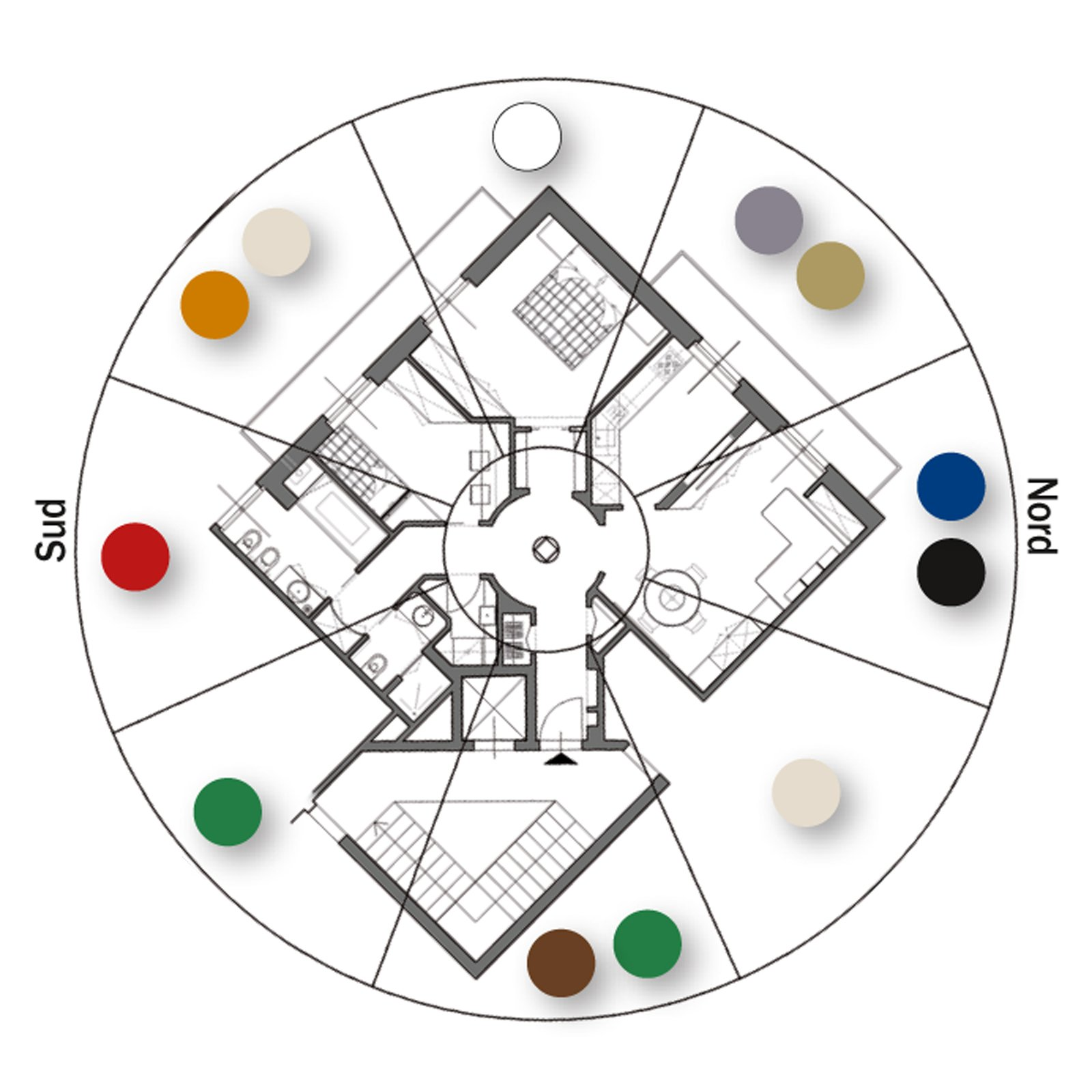 75 mq un trilocale pensato per il benessere cose di casa. Black Bedroom Furniture Sets. Home Design Ideas