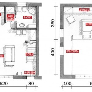 Una Casa A Doppia Altezza Con Soppalco Di 70 Mq Cose Di Casa