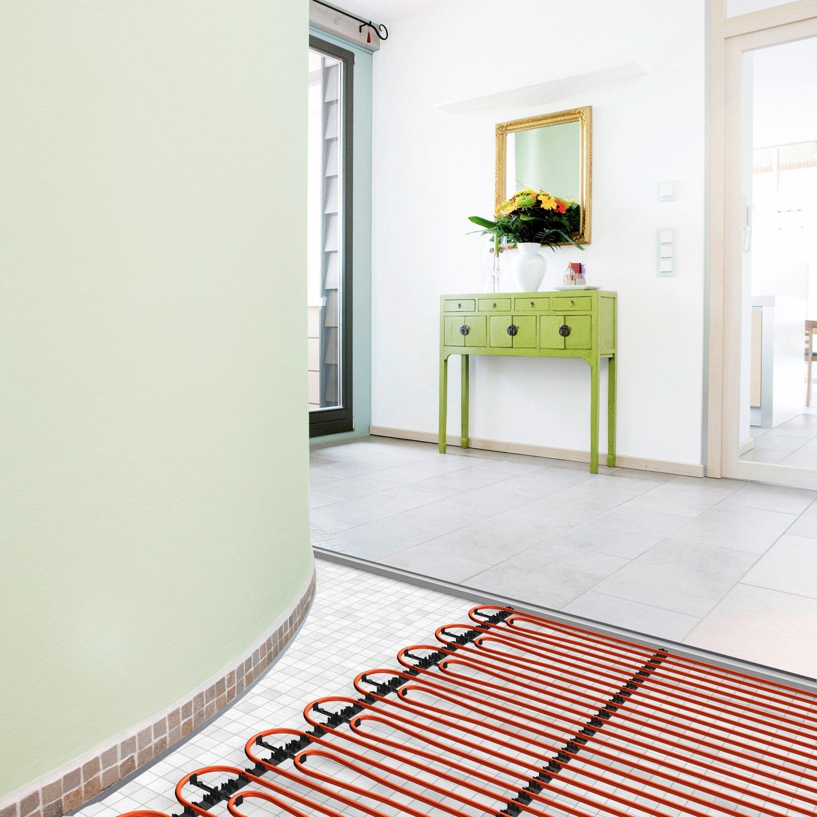 Pannelli radianti alto rendimento bassi consumi cose di casa - Riscaldamento pannelli radianti a parete ...