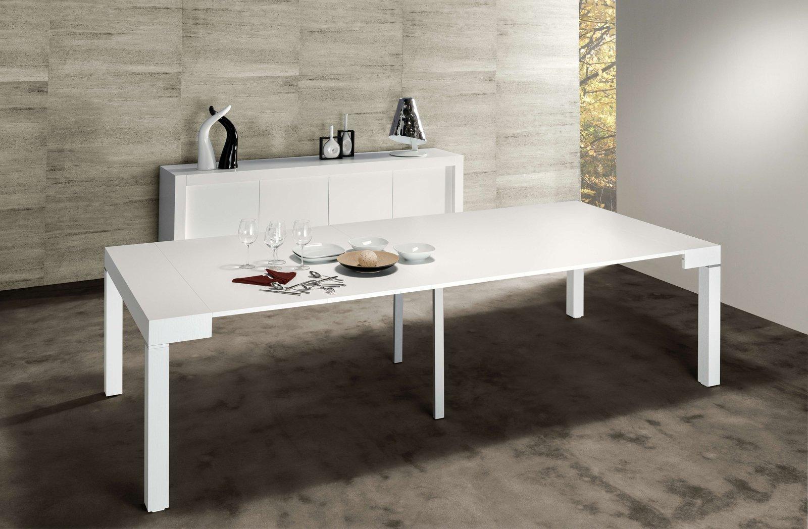 La console che diventa maxi tavolo cose di casa - Tavolo allungabile a consolle ...
