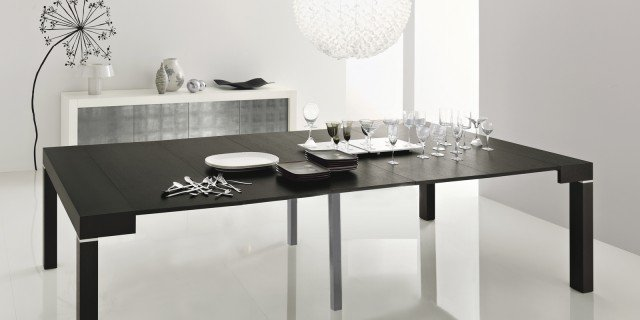 La console che diventa maxi tavolo cose di casa - Consolle che diventa tavolo ...