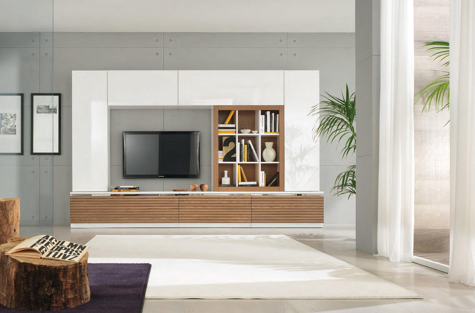 Librerie e non solo un posto per tutto cose di casa Mobile soggiorno bianco