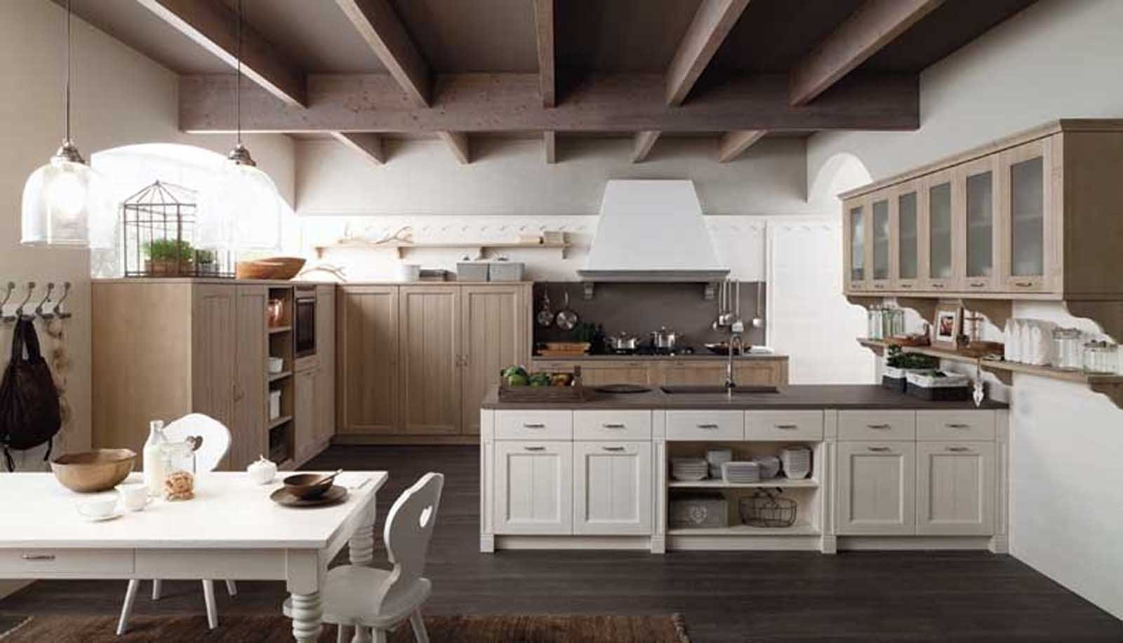 Cucine Country Una Scelta Di Stile Cose Di Casa #505C31 1600 917 Foto Di Cucine Arte Povera