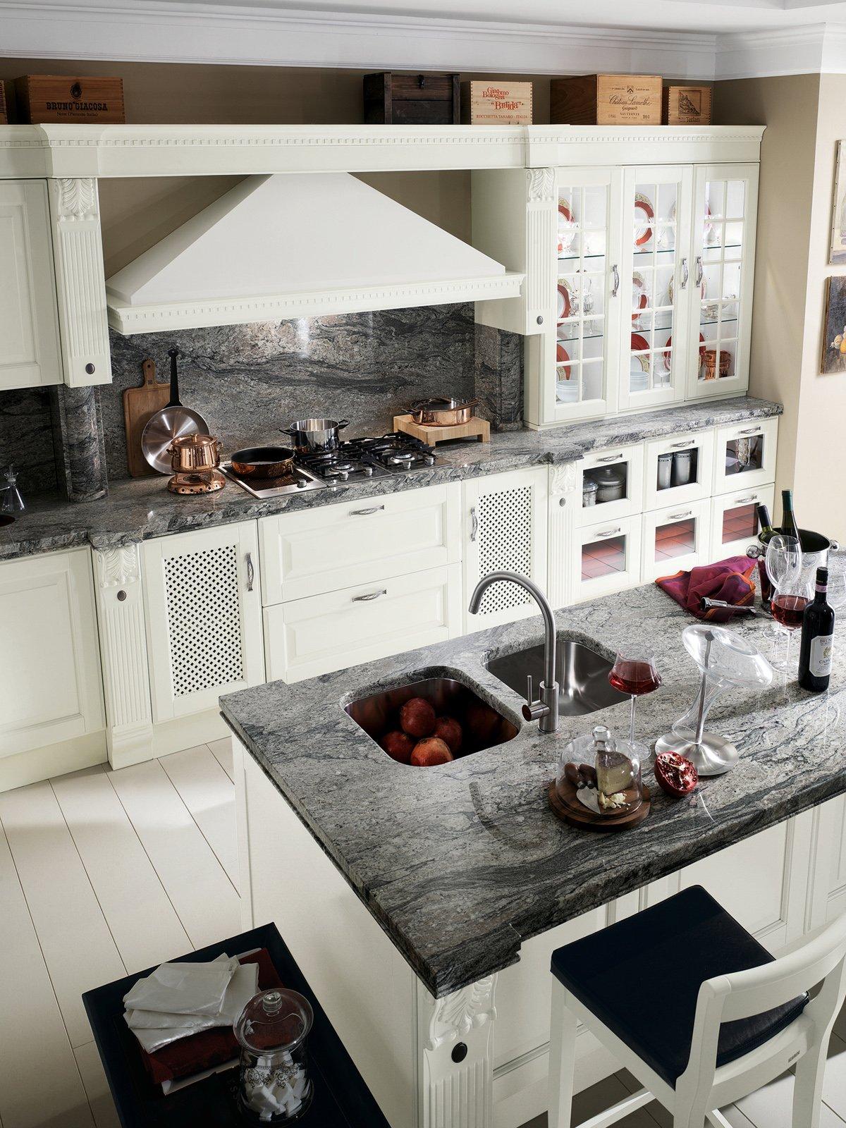 Cucine Country Una Scelta Di Stile Cose Di Casa #844761 1200 1600 Foto Cucine Moderne Con Isola