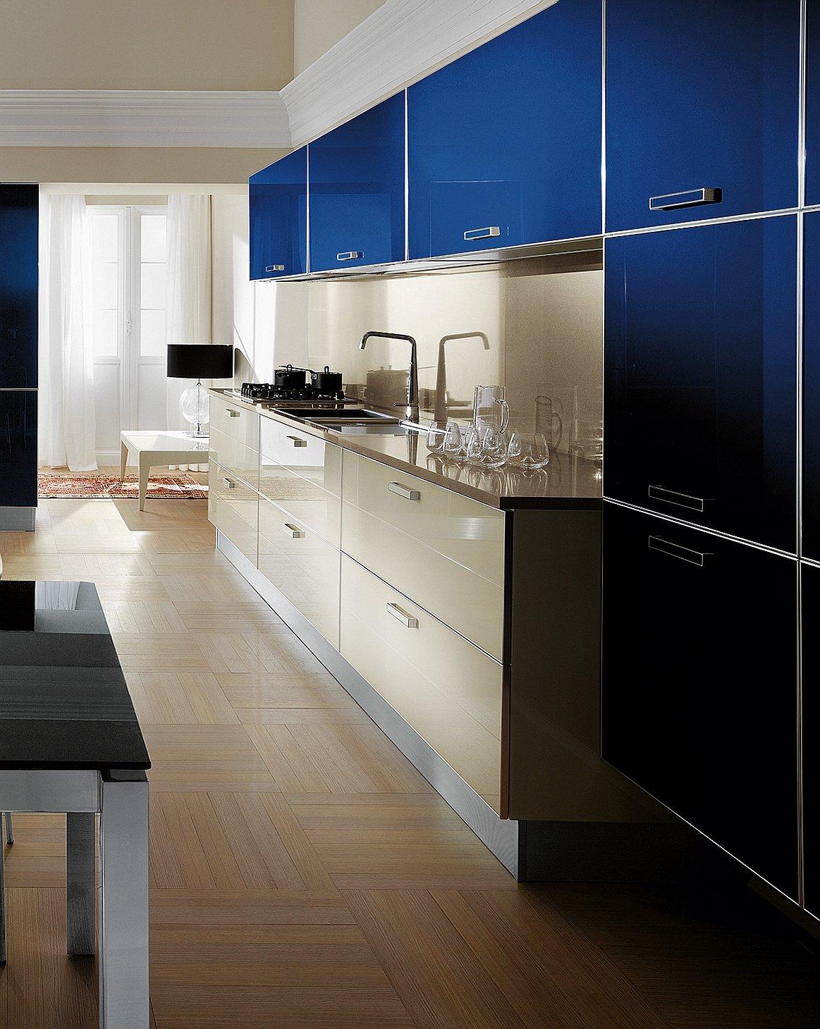 La cucina colorata un guizzo di vitalit cose di casa - Maniglie cucina scavolini ...