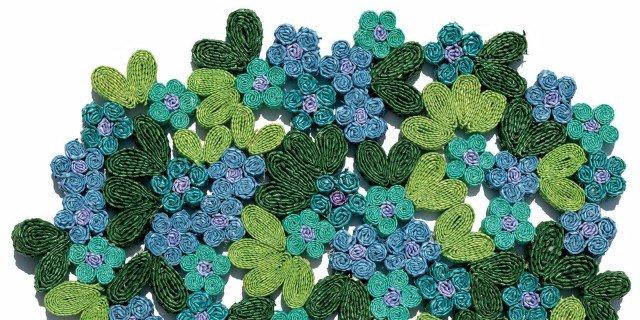 Oggettistica: il verde in tavola