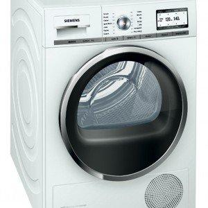 L'asciugatrice a pompa di calore iQ890 Master Class di Siemens è in classe energetica A -60% e consente quindi un risparmio elevato. Ha il condensatore autopulente e il sistema ecoGenius per personalizzare l'asciugatura. Misura L 59,5 x P 59,5 x H 84,5 cm. Prezzo 1.415,00 euro www.siemens.it