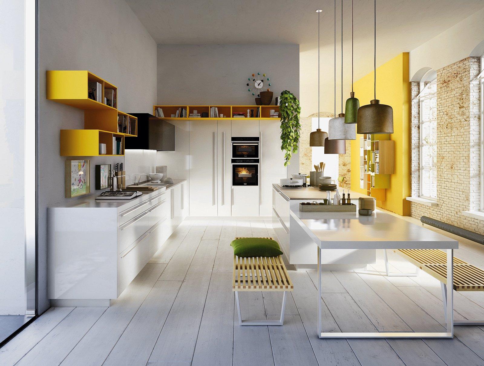 La cucina colorata un guizzo di vitalit cose di casa - Colorare pareti cucina ...