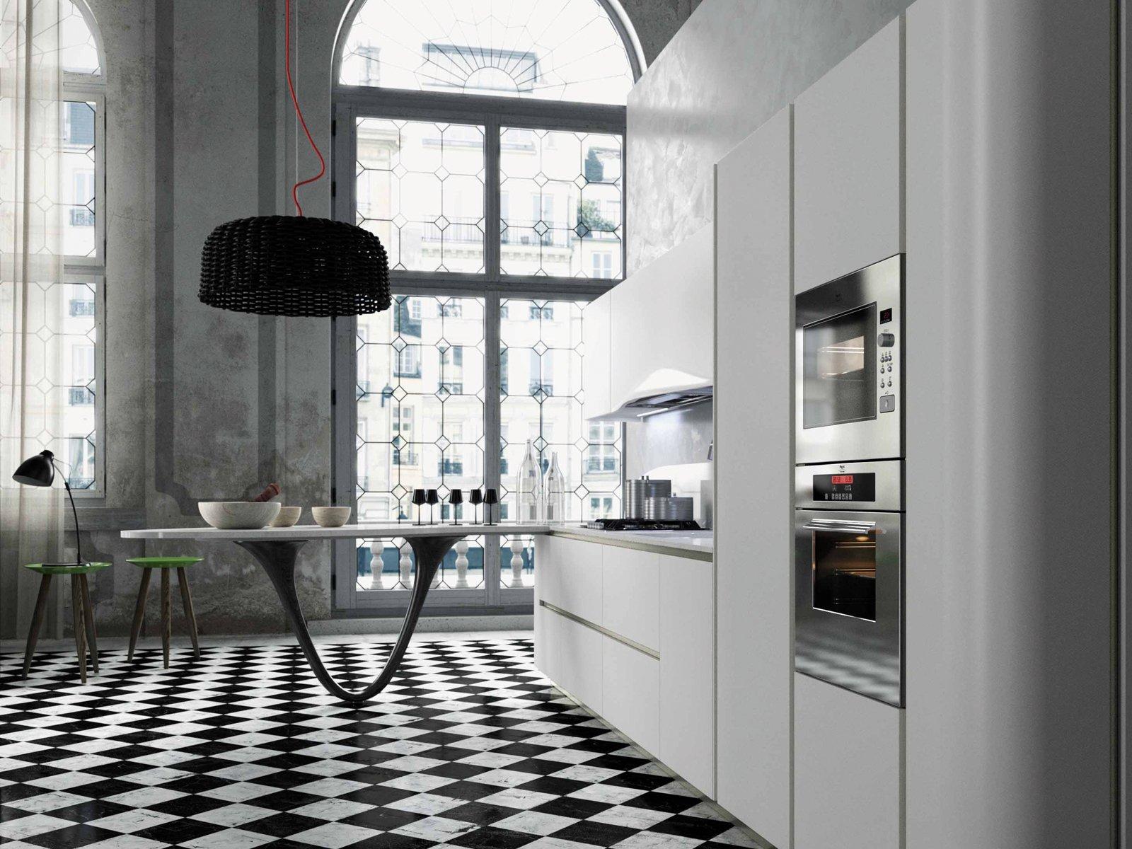 Leggi Anche Cucine Focus Sui Piani Cucine Colorate Come Un #5C696F 1600 1200 Cucine Piccole Con Piano Colazione