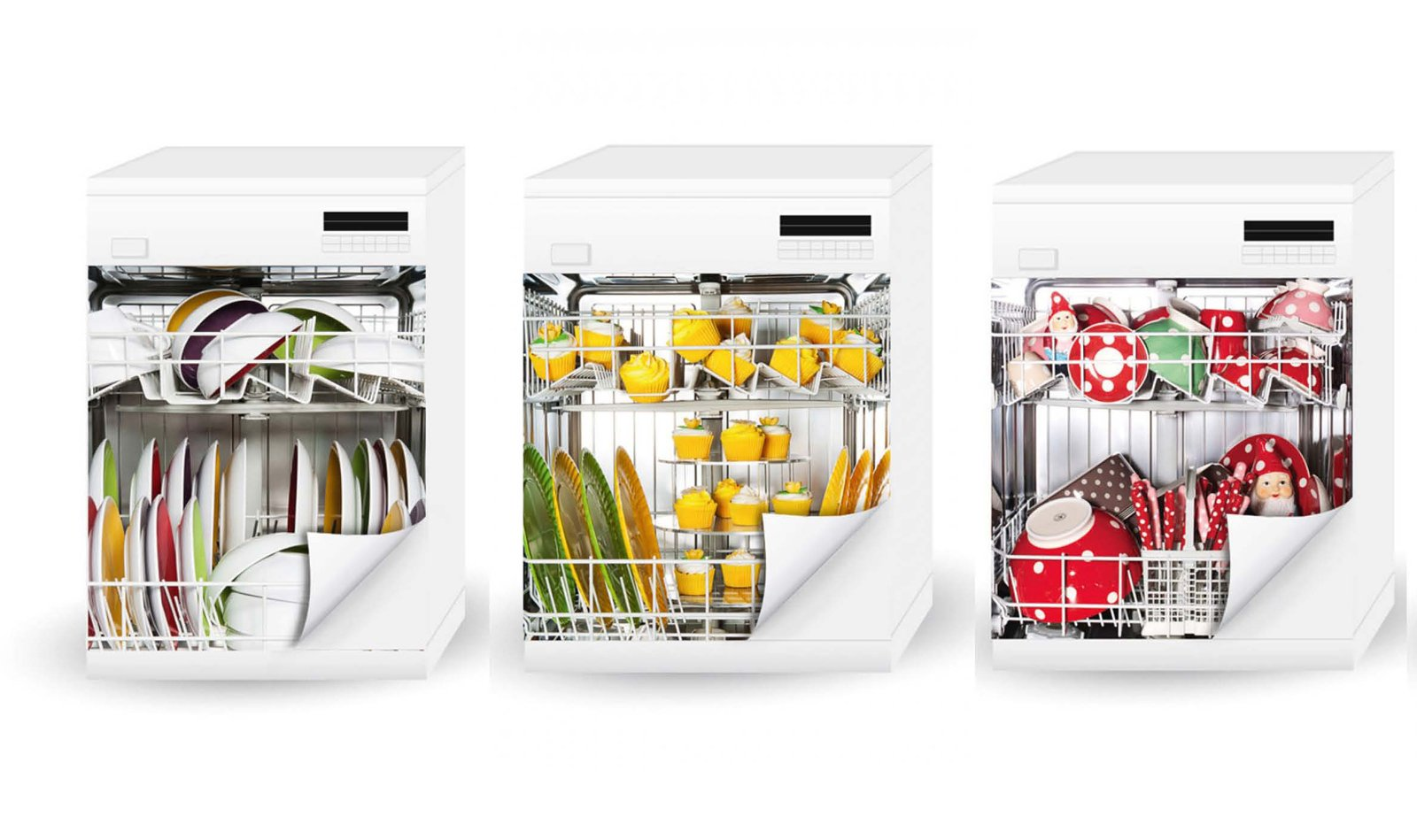 Trasformo con gli stickers la lavastoviglie e non solo - Sticker per cucina ...