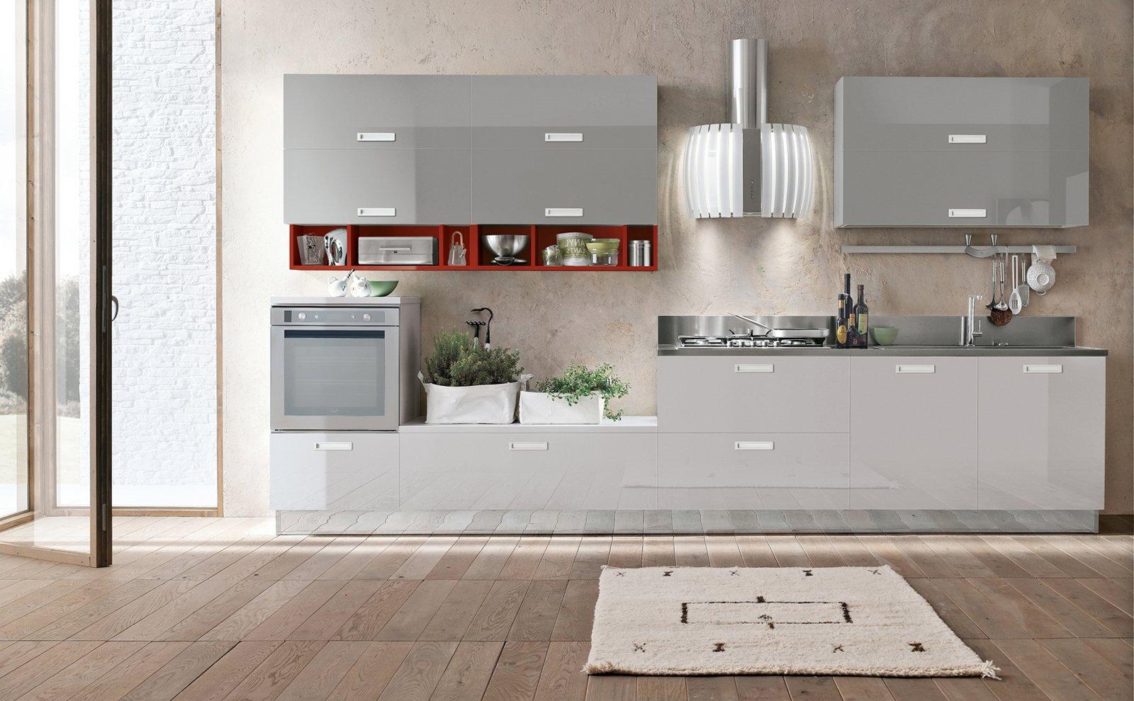 Piombo E Grigio Cenere La Cucina Scelta è Milly Di Stosa Cucine  #6C3F33 1600 990 Foto Di Cucine In Stile Provenzale