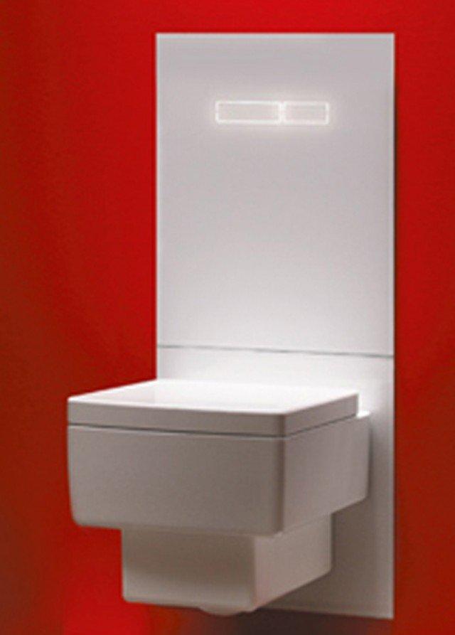 """Tecelux di Tece nella versione """"sen-Touch"""" ha azionamento elettronico. Comprende alimentazione elettrica (230 V) con motorino di azionamento doppio. Misura 430 x 555 x 16 mm. Prezzo da rivenditore. www.tece.it"""
