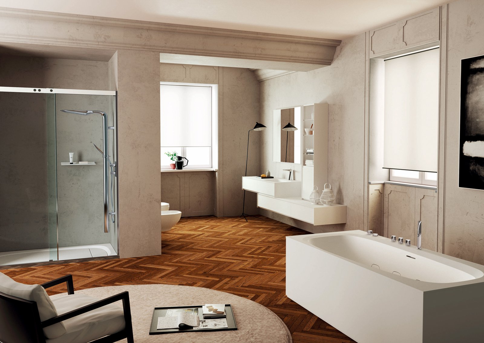 Il bagno a norma cose di casa for Foto di case