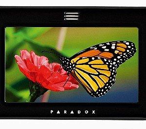 TM 50 di Dias, tramite lo schermo a colori con tastiera touch permette di gestire l'impianto d'allarme in modo intuitivo  e con menu guidati; prezzo da rivenditore. www.dias.it