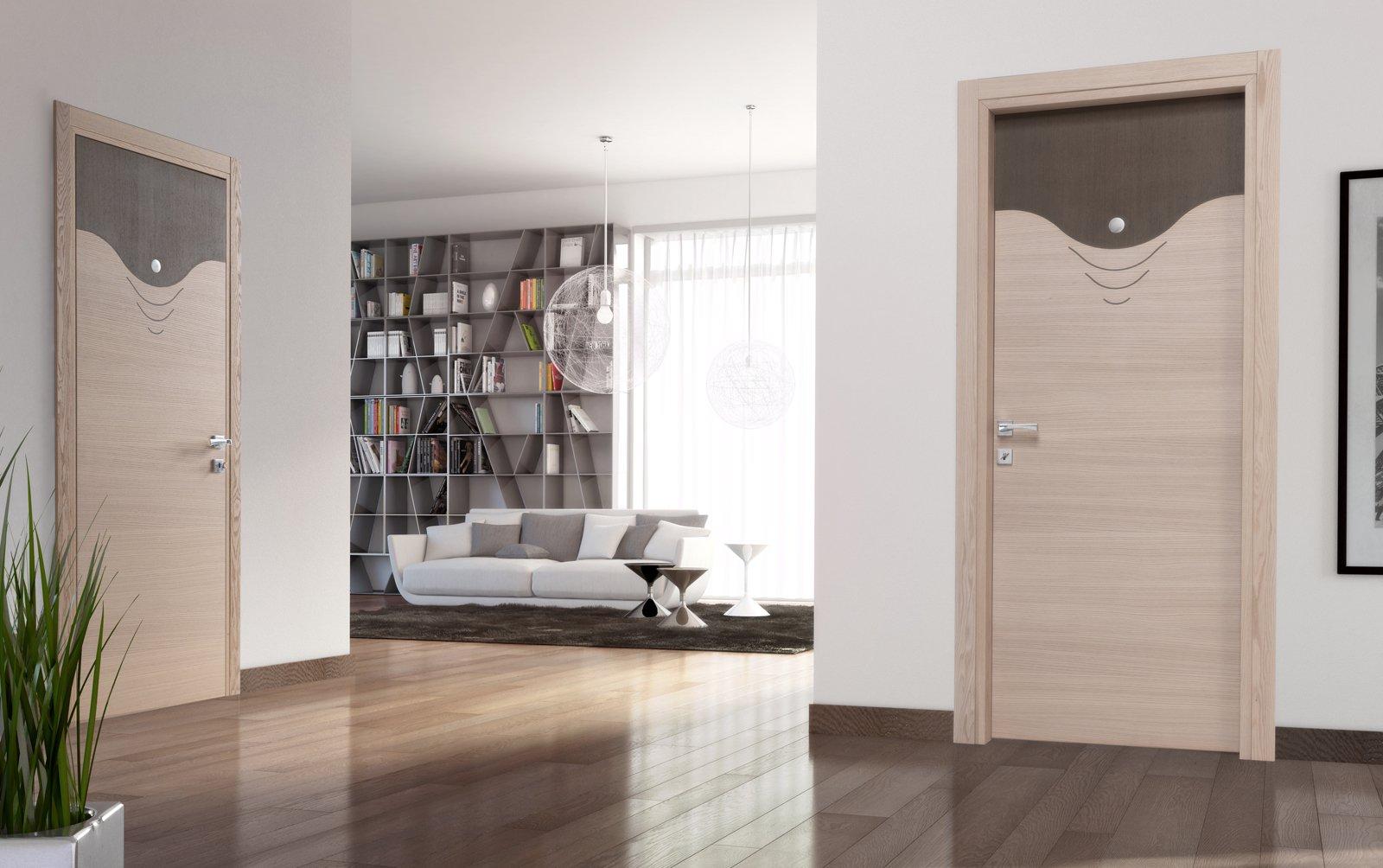 porte e arredo: i consigli su come abbinare stili e rifiniture ... - Design Della Porta In Legno Moderno Con Vetro
