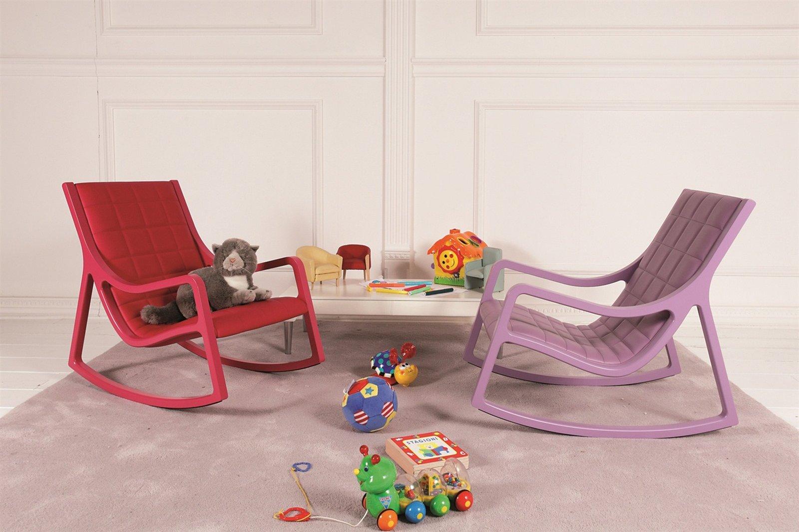 Sedie a dondolo ritorno dal passato cose di casa - La sedia a dondolo ...