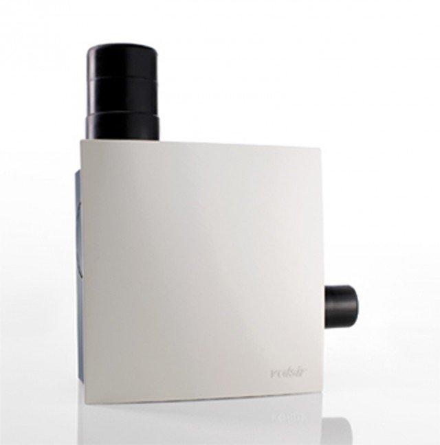 Ariapur di Valsir è il sistema per assicurare aria pura all'interno dei bagni ciechi. www.valsirdesign.it