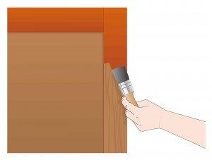 Pitturare Una Porta Di Legno.Dipingere Una Persiana In Legno Cose Di Casa