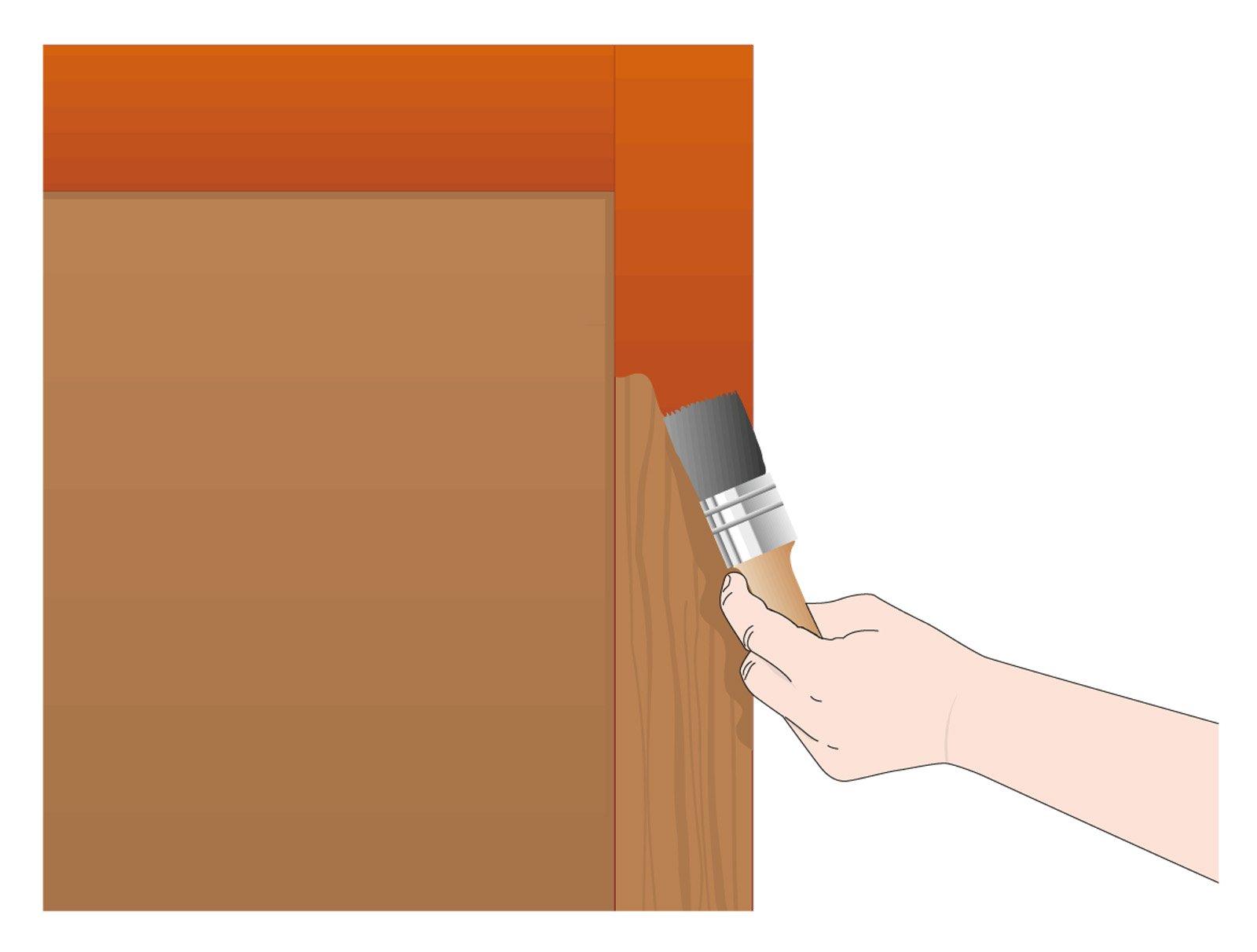 Dipingere una persiana in legno cose di casa - Riverniciare ante cucina ...