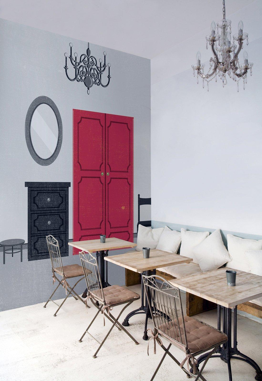 La carta da parati per trasformare le pareti di casa - Carta parati cucina lavabile ...