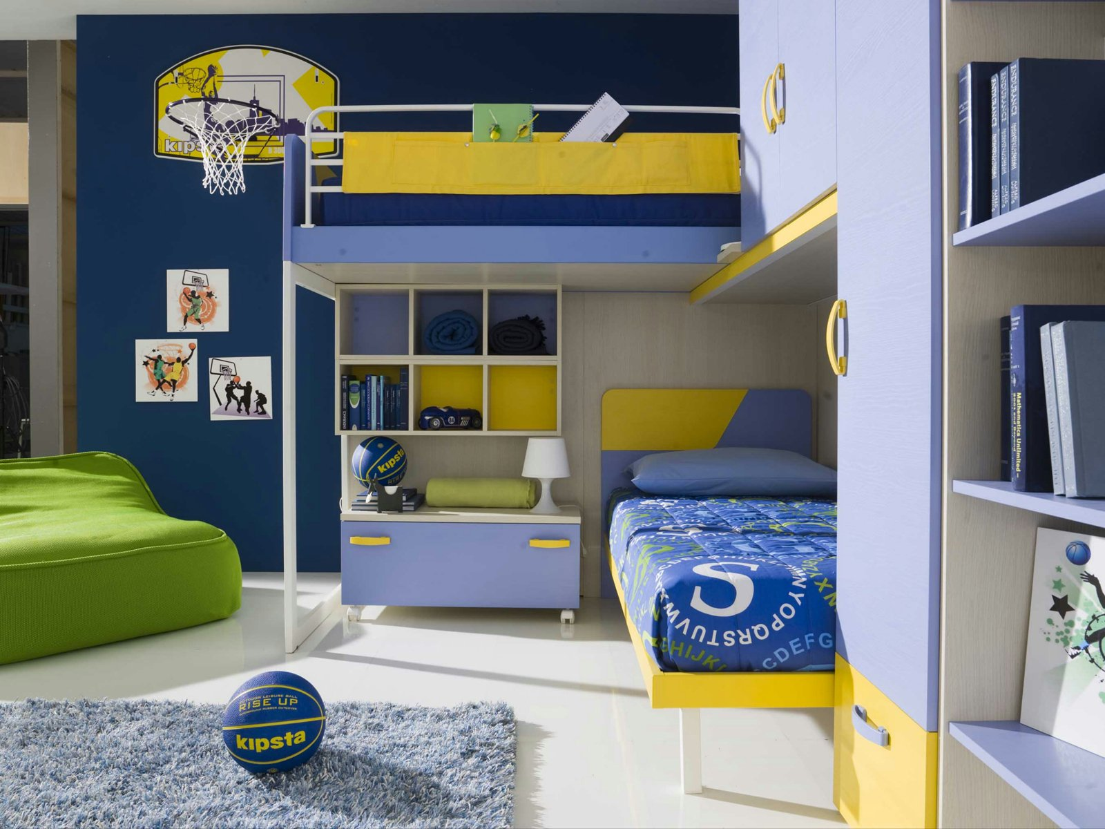 Camerette funzionalit a misura di bambino cose di casa for Case arredate mondo convenienza