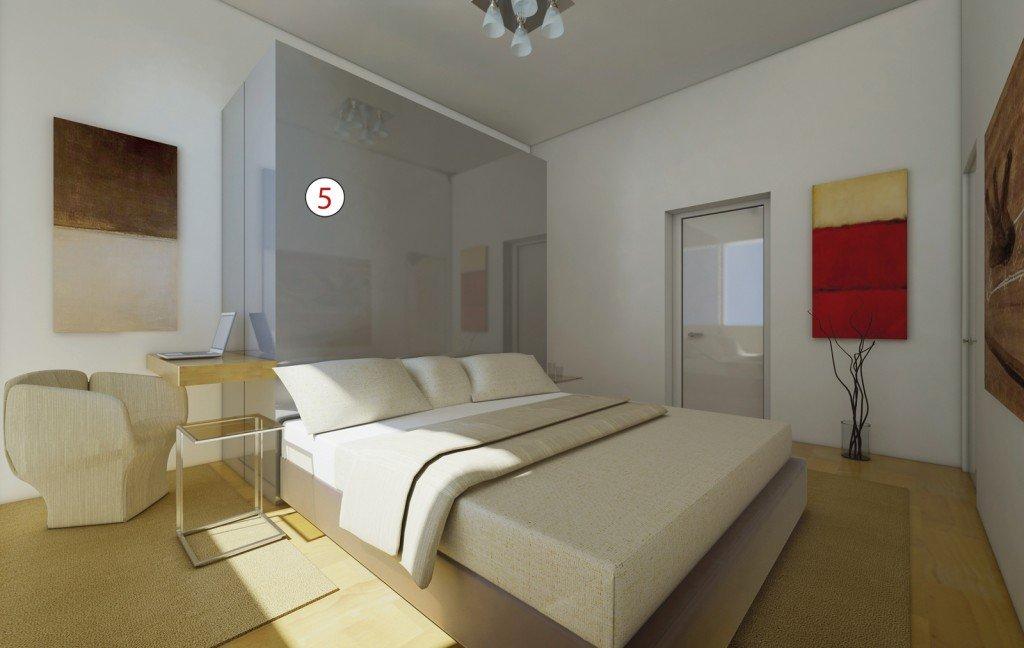 parete quinta in casa : Tante idee per migliorare casa: focus sulla zona notte - Cose di Casa