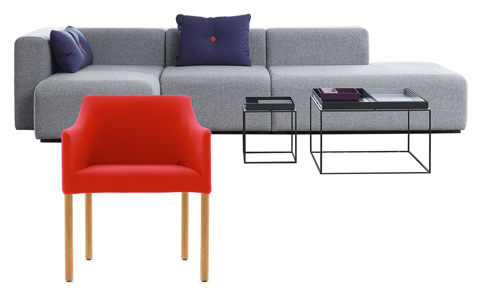 Poltrona e divano idee per abbinarli cose di casa for Divano minimal