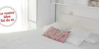 La camera da letto si fa nuova con un tocco di bianco