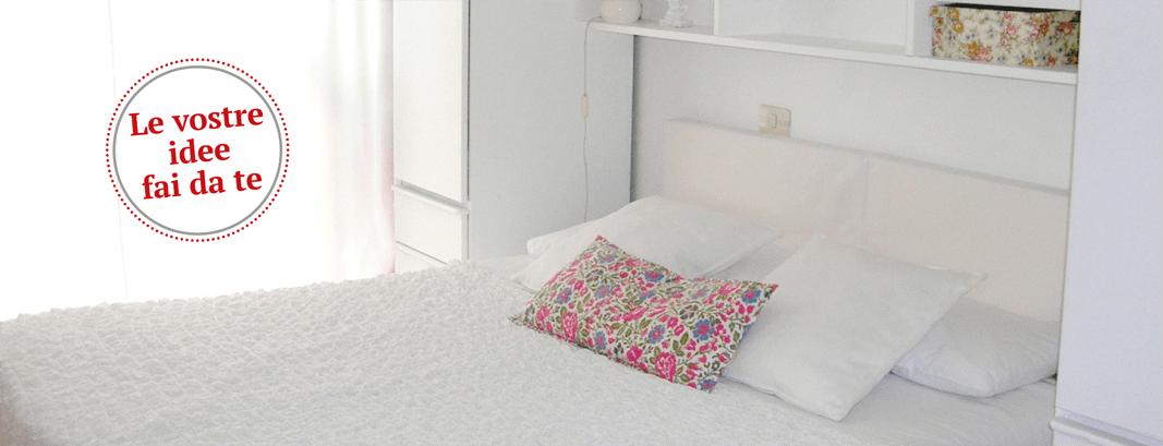 La camera da letto si fa nuova con un tocco di bianco for Architetto fai da te
