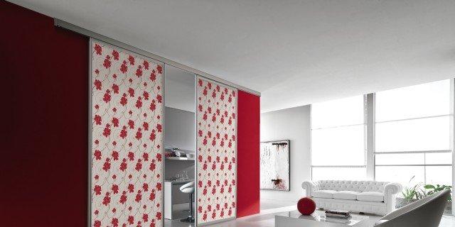 Rivestimenti in tessuto per le porte cose di casa for Mobili stilizzati