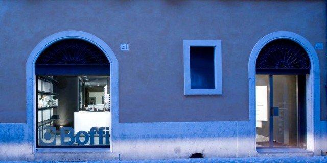 Boffi a Roma, da via Barberini a via Margutta